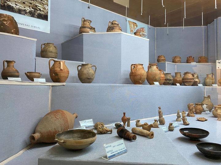 İzmir tarih ve sanat müzesi seramik bölümü